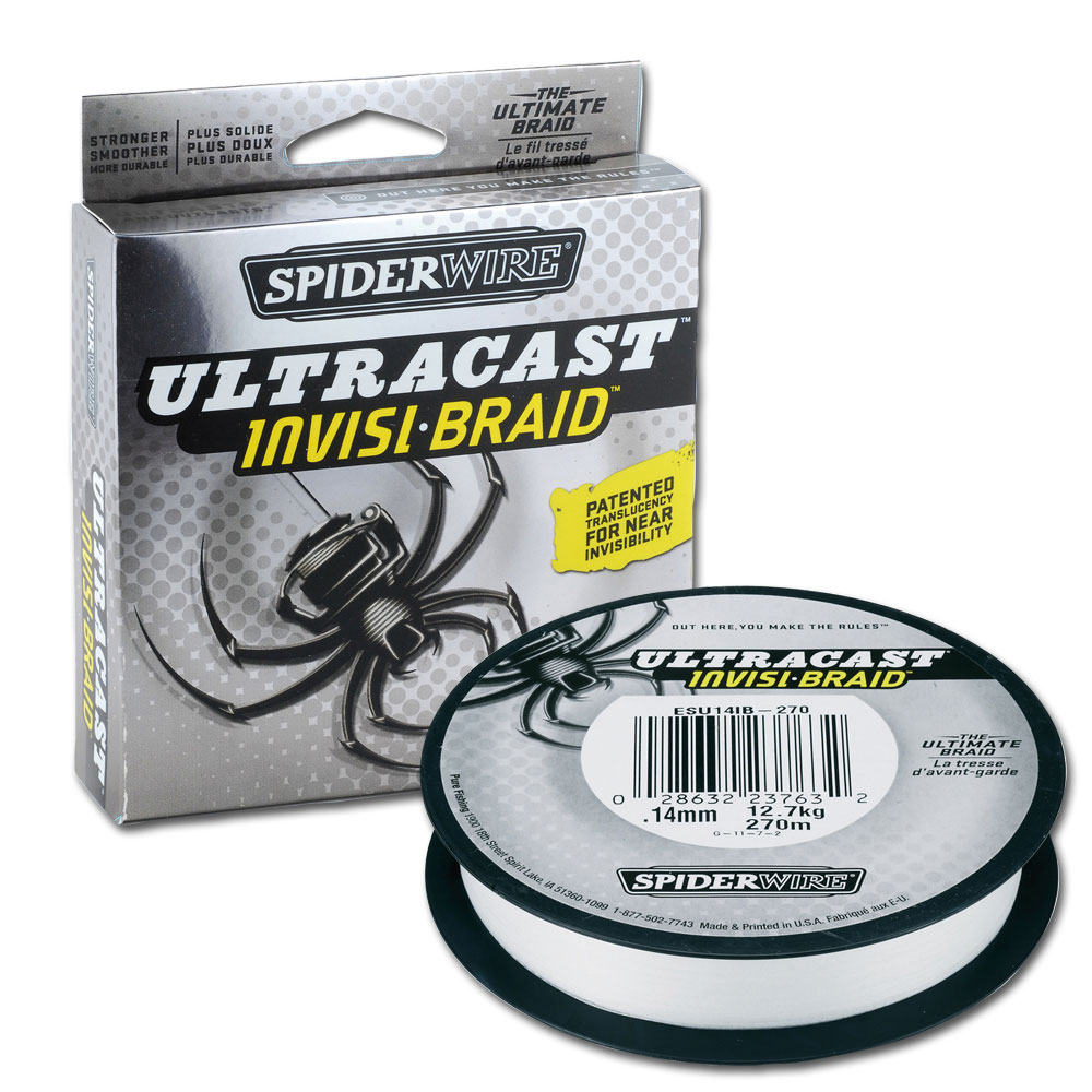 spiderwire ultracast invisibraid